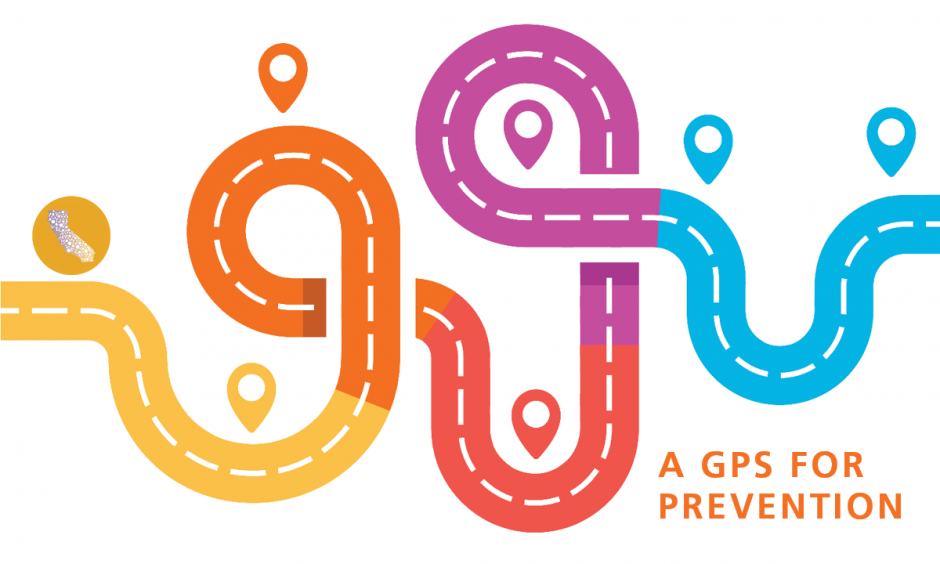 Logo for A GPS for Prevention Webinar