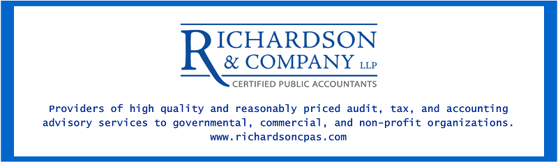 Providers of high quality and reasonably priced audit, tax, and accounting advisory services to governmental, commercial, and non-profit organizations. www.richardsoncpas.com